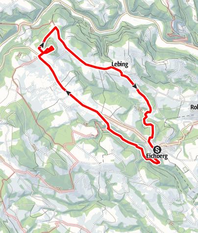 Karte / GERA Park Rundweg