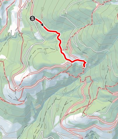 Mapa / Wanderung zu den Erdpyramiden