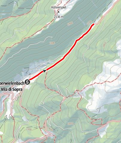 Kaart / Wanderung zur Lercher Alm