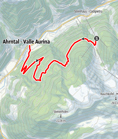 Mappa / Niederhofer Alm: 1603m