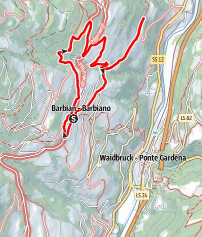 Mapa / Auf dem Weg mit Genuss: Geführte Zwetschkenexkursion mit Einkehr in einem Buschenschank