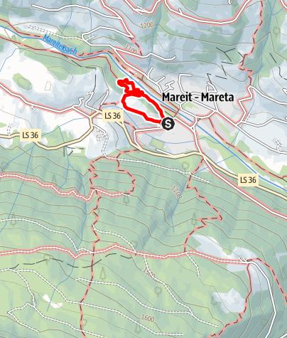 Mapa / Naturheilkundlicher Lehrpfad - Schloss Wolfsthurn