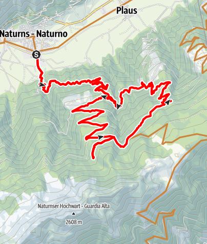 Mapa / Brand Trail