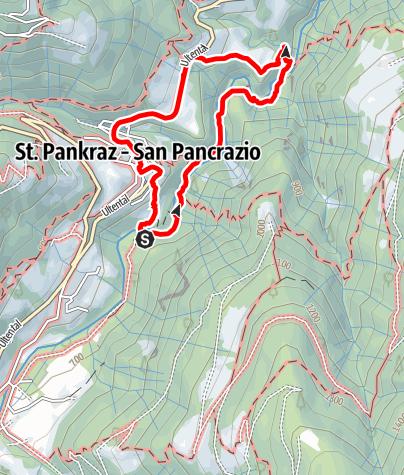 Mapa / Trifterweg St. Pankraz