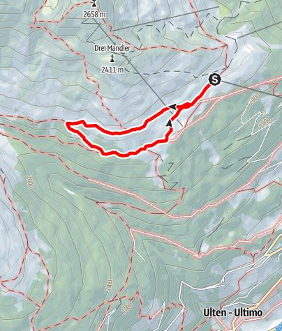 Map / Schwemmalm Circuit Trail