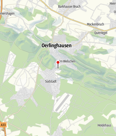 Karte / Oerlinghauser Waldfreibad