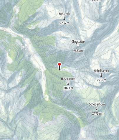 Karte / Kreealm-Kapelle