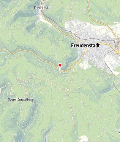 Karte / Hotel Langenwaldsee