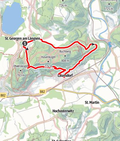 Karte / Rund um den Buchberg (6)