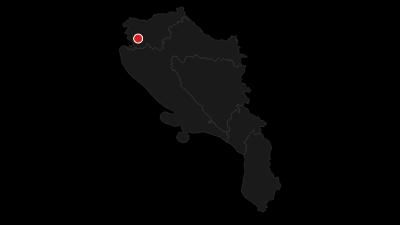 Mapa / Via Dinarica White Trail