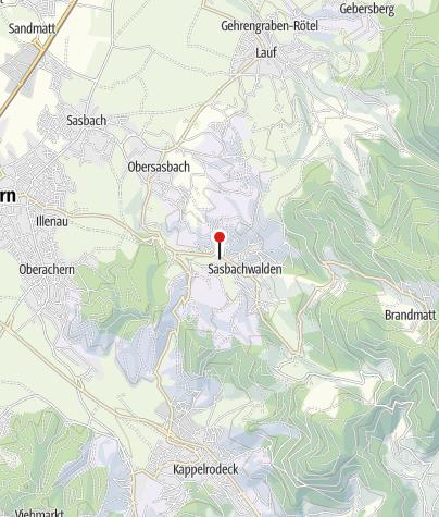 Karte / Alde Gott Winzer Schwarzwald eG