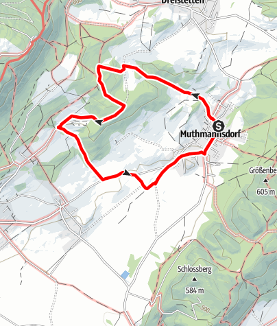 Karte / Muthmannsdorf Rundwanderweg 2