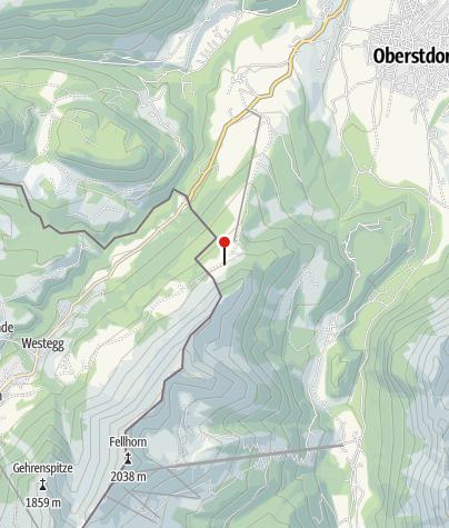 Karte / Sennalpe Schrattenwang - Allgäuer Alpgenuss
