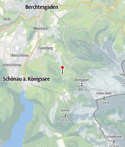 Karte / Alpengasthof Vorderbrand
