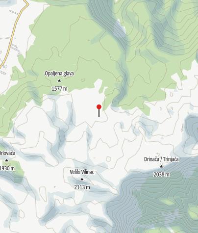 Map / Mountain shelter Zaglavlje