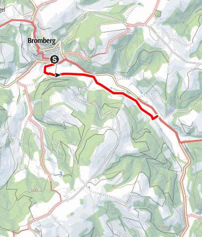 Map / Bromberger Hexenweg
