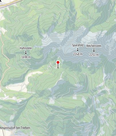 Map / Klinkehütte, 1.486 m
