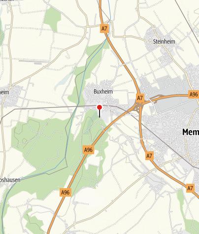 Karte / Walderlebnis und innere Einkehr Buxheim (Aktiv Park Kneippland Unterallgäu)