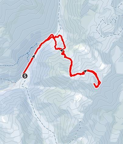 Kaart / Über den Saldurboden auf den Ramudlkopf (3.330 m) im Matschertal