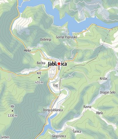 Map / Voćepromet