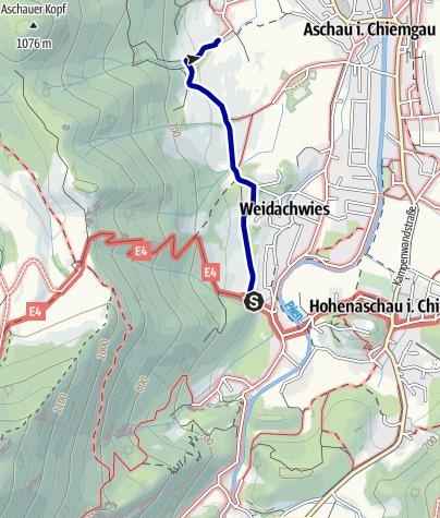 Karte / Bankerlweg - Boarischer Entschleunigungsweg