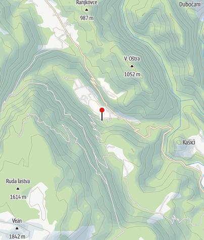 Map / Borašnica Camp at Boračko lake