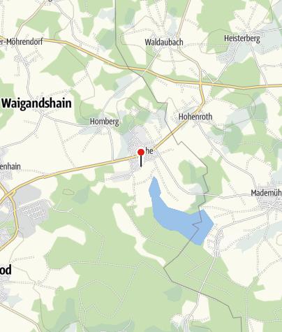 Carte / Bochen, Ferienwohnung Westerwaldblick