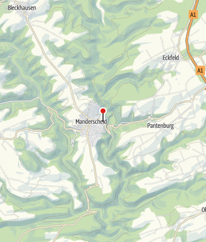 Karte / Pension am Lieserpfad