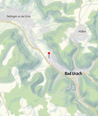 Karte / Saunawelt und Saunagarten in den AlbThermen