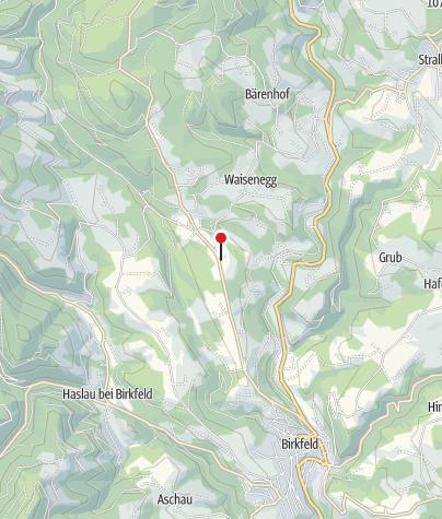 Karte / Pilgerstätte Gallbrunnen