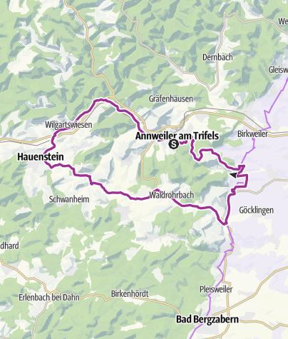 Map / Burgentour