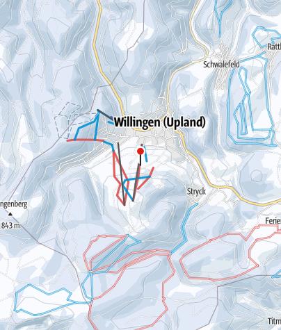 Karte / Willingen