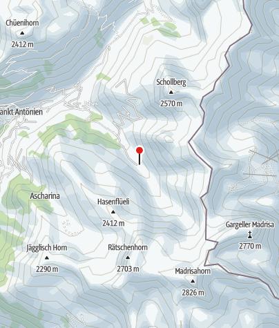 Karte / Berghaus Edelweiss