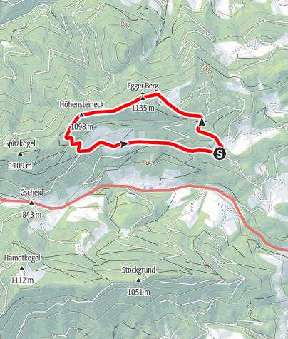 Karte / Höhensteinrunde