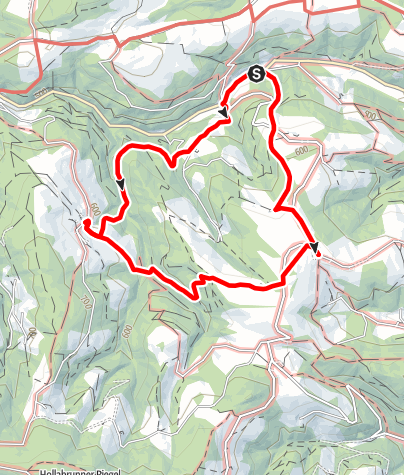 Karte / Mostheurigen Weg (Warth-Kirchau)