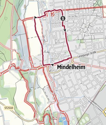 Karte / Wanderung am 16. Juni 2020 um 17:56