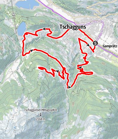 Map / Grabser Tour (E-Bike)