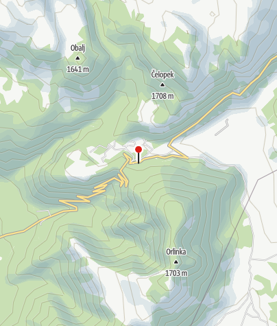 Map / Motel Snježna kuća