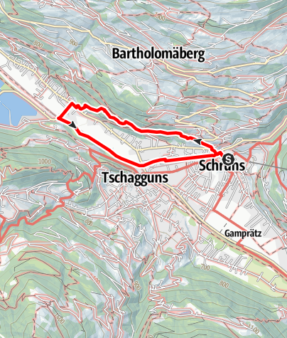 Map / Gauensteinrunde