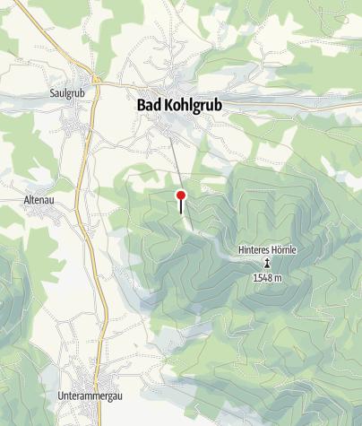 Karte / Bergwacht-Hütte