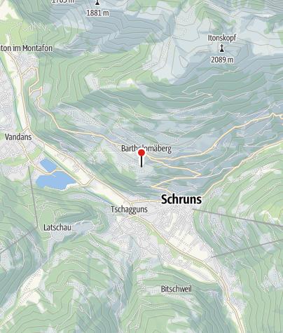 Karte / Bodaweg