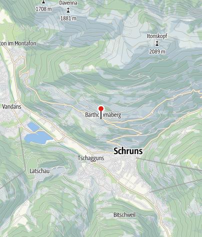 Karte / Bergknappenweg, alte Bergleute