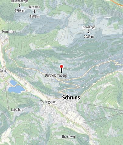 Karte / Tschuga Moor