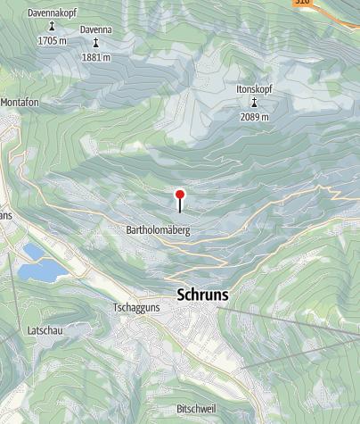 Karte / Roferweg, Haldenanschnitt und spätmittelalterliche Erzaufbereitung