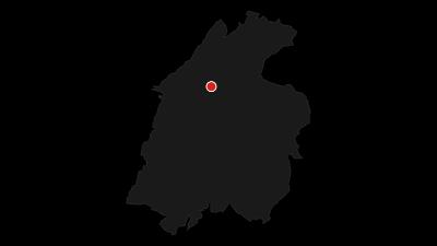 Cartina / In bici da Rovereto a Nomi