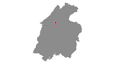 Karte / Mit dem Rad von Rovereto bis Nomi