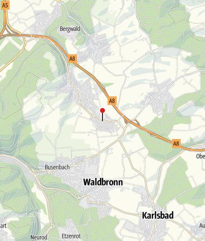 Karte / Waldenserweg Palmbach