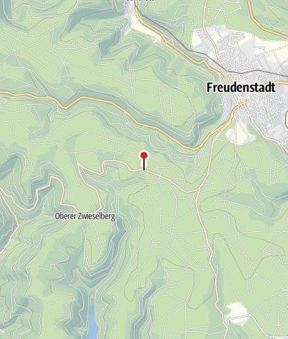 Karte / Schwarztannenhütte
