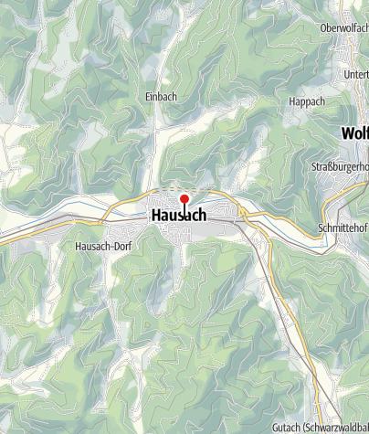 """Karte / Hotel-Gasthaus """"Zur Eiche"""""""