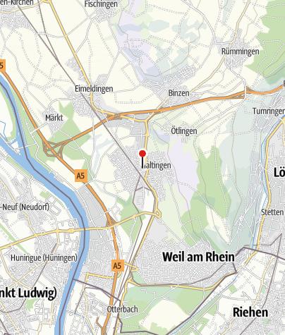 Karte / Motel-Residenz Labee